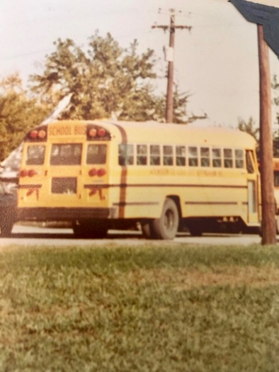 I spent a lot of time on this school bus! Circa 1976.