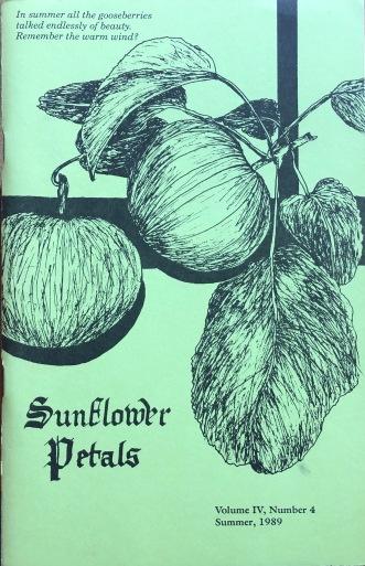Sunflower Petals. Vol. IV, #4, Summer 1989