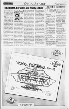 Atchison Daily Globe