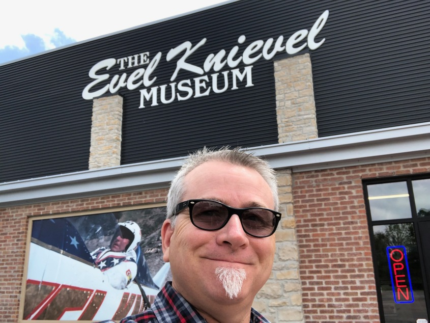 The Evel Knievel Museum. Topeka, Kansas May 2019.