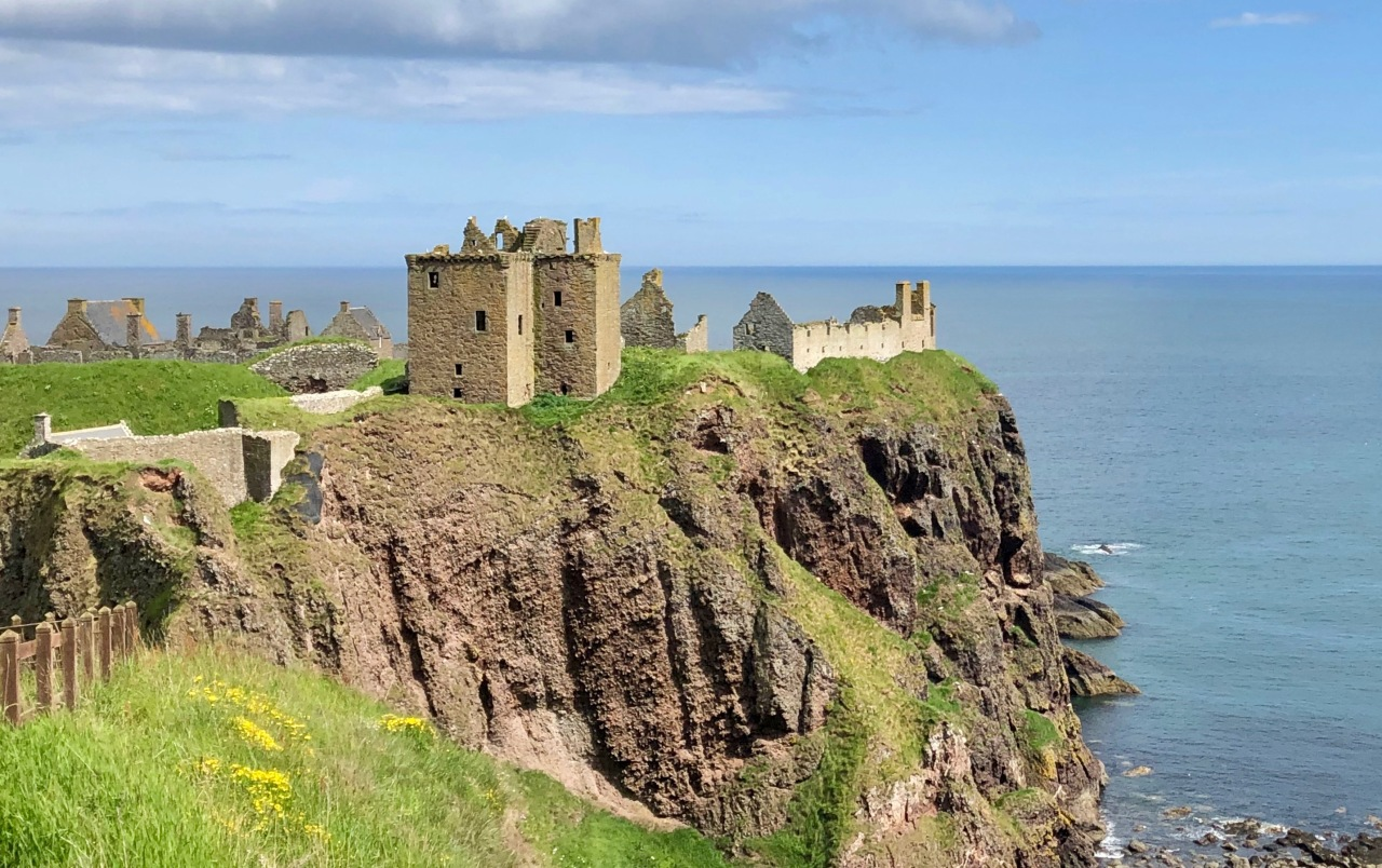 Dunnottar Castle at Stonehaven, Scotland