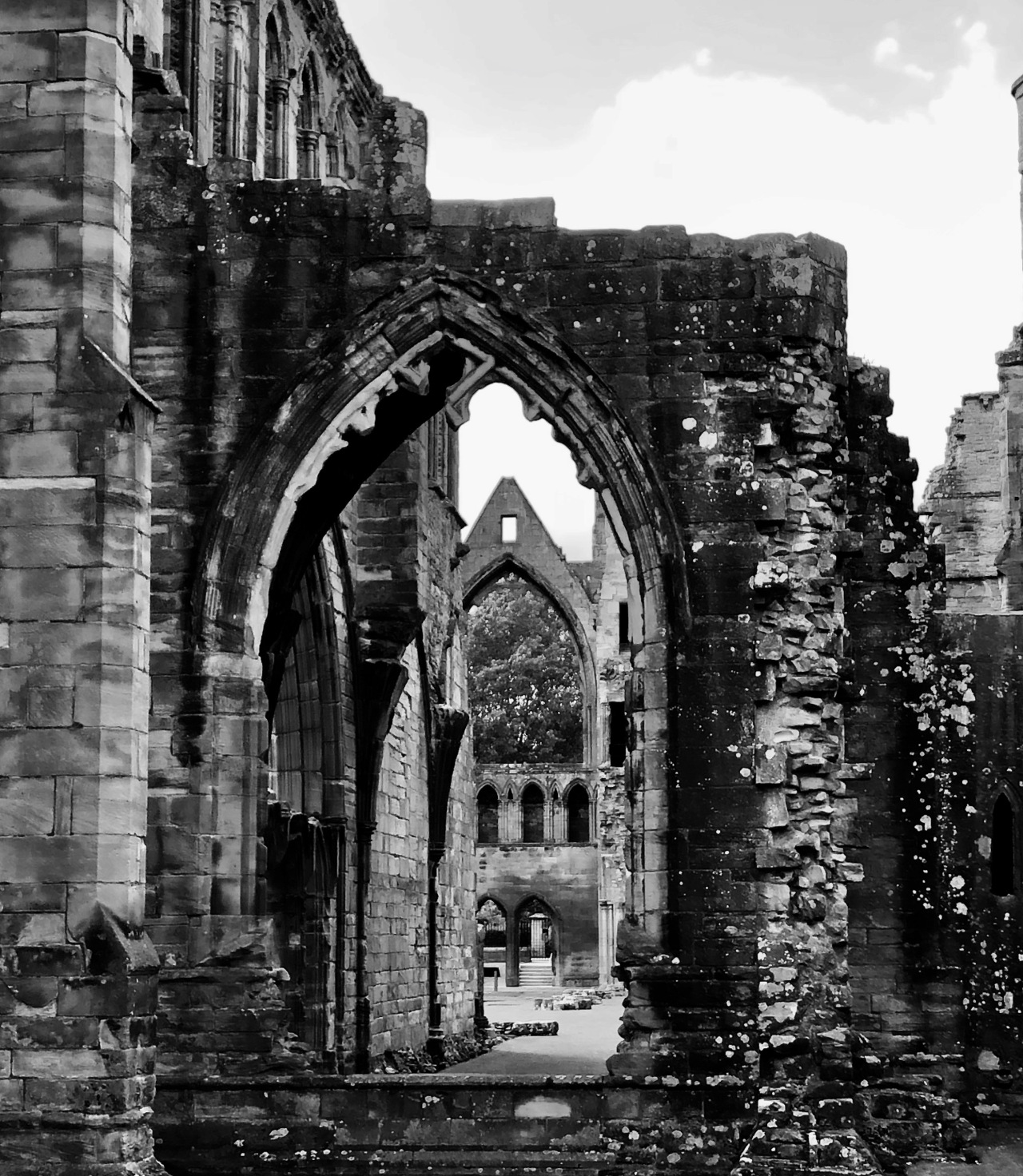 Scottish Ruins of Elgin Cathedral