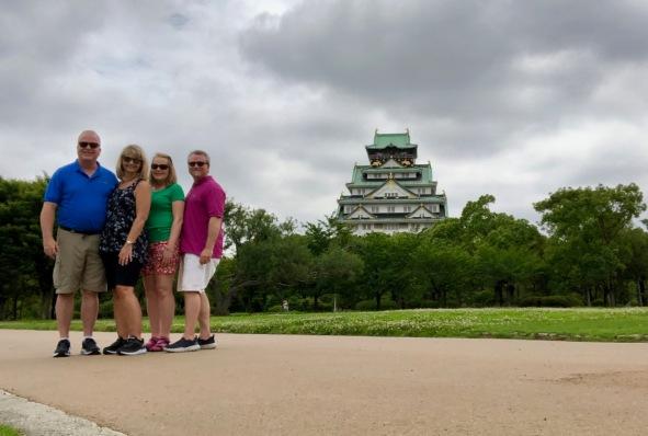 Grahams & Vessars at Osaka-jo.