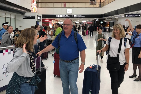The Grahams Arrive in Tokyo!