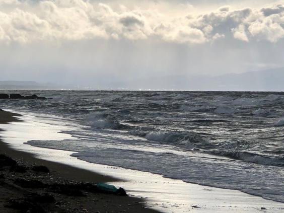 Mutsu Bay in Winter