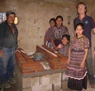 Stove in Guatemala