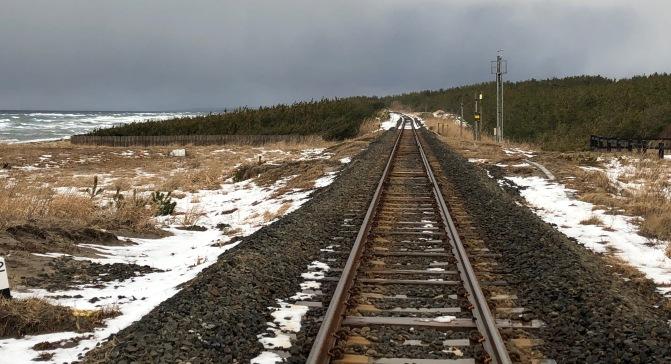 Aomori Train Tracks